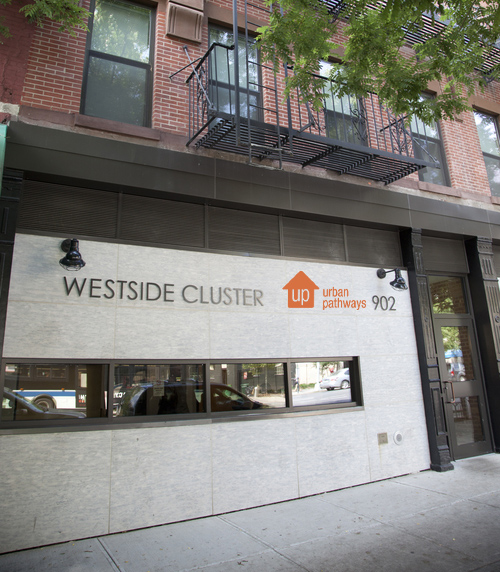 Cluster House, one of Urban Pathways transitional housing residences in Manhattan.