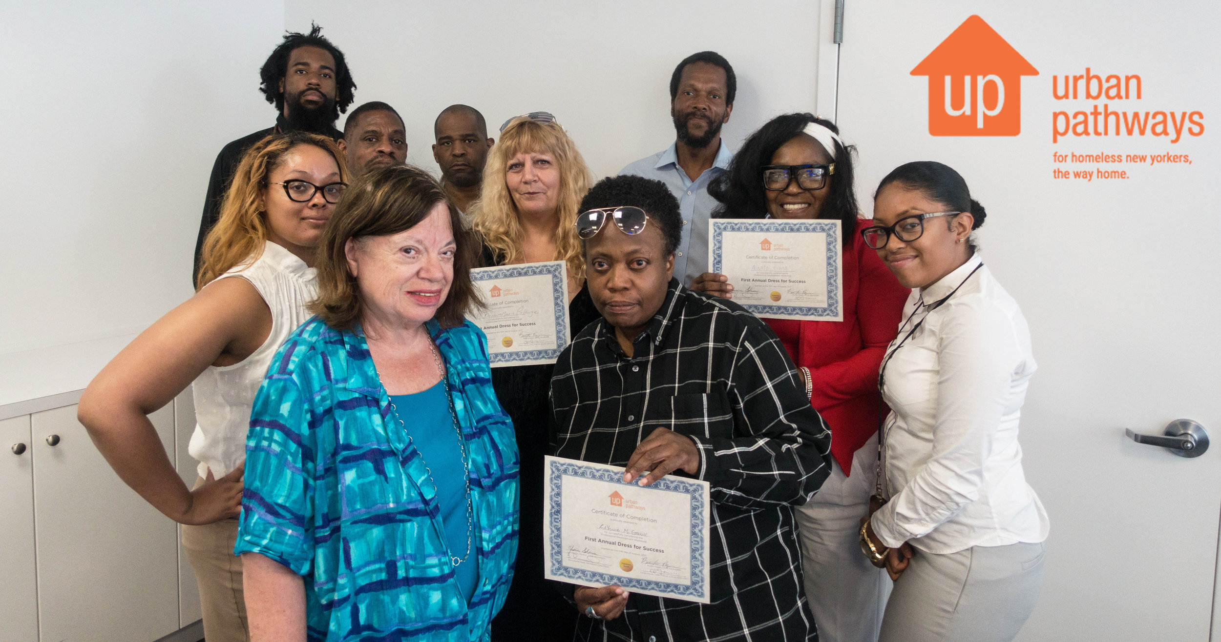 Our Dress for Success Participants and staff.