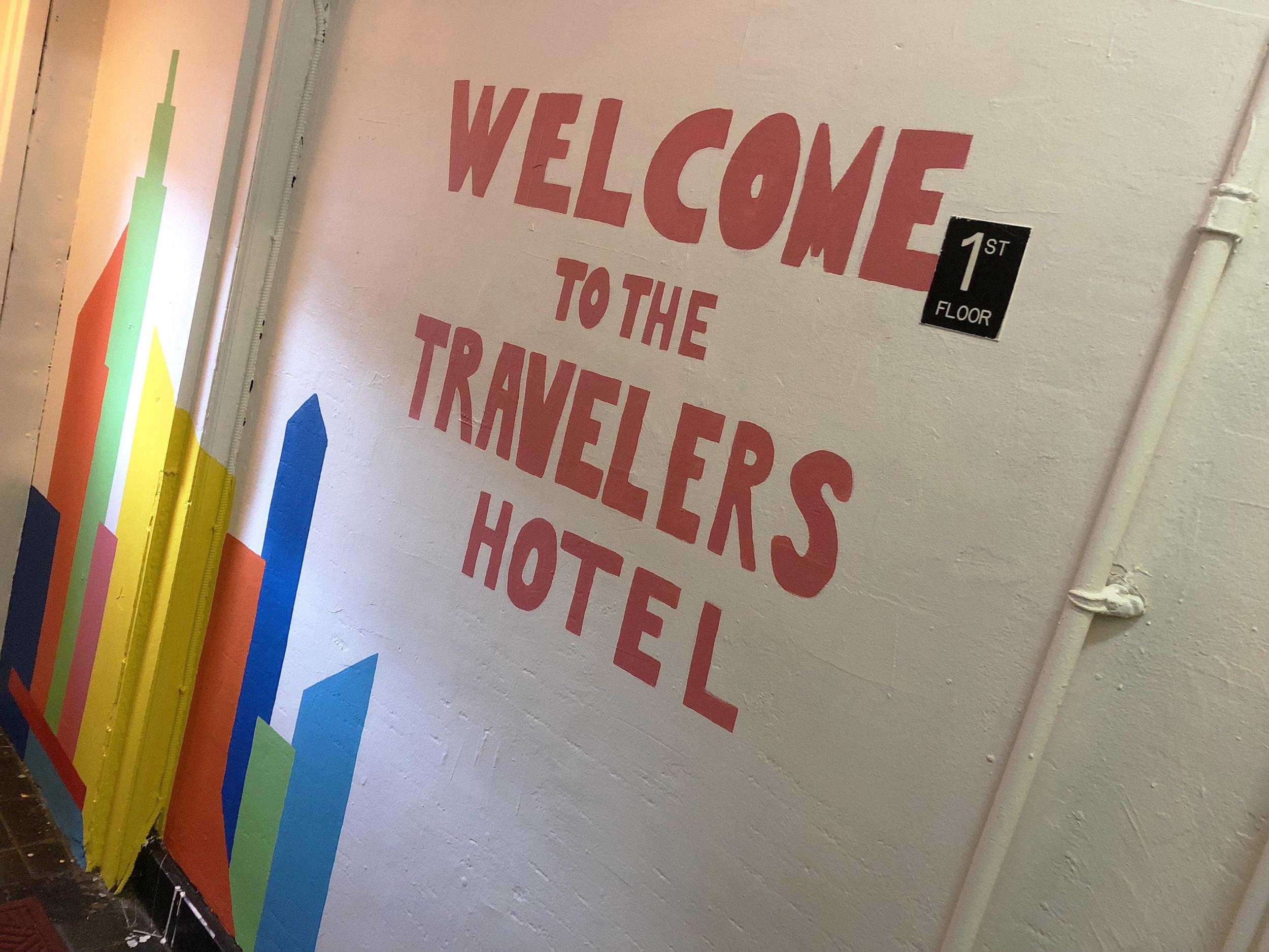 Updated lobby to Travelers thanks to the staff of Robert Graham.
