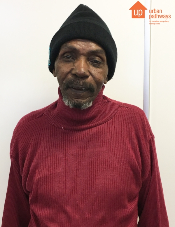 Eli Carter, formerly homeless resident of Urban Pathways' Safe Haven