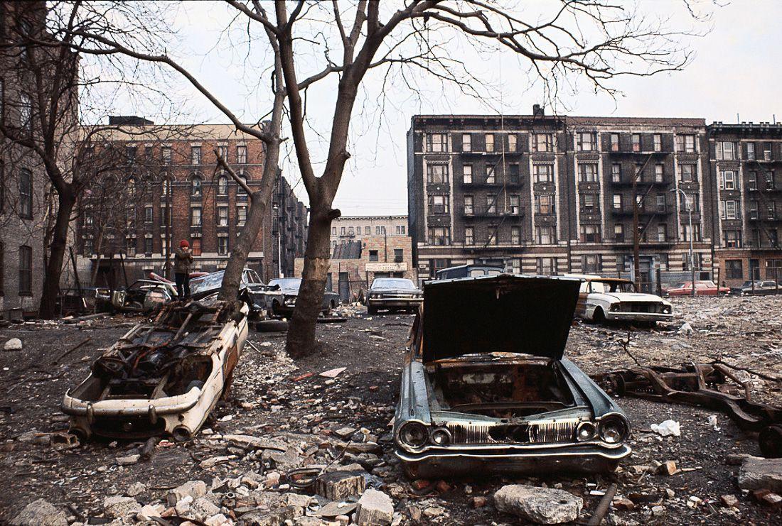 Harlem, New York circa 1970's