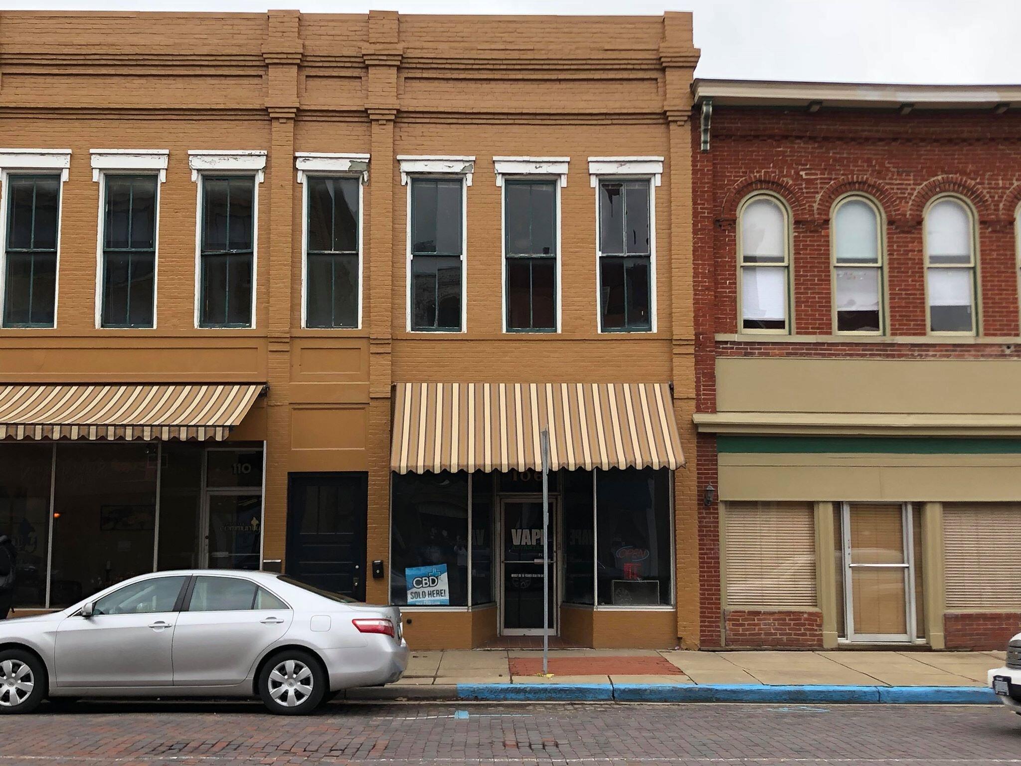 106 Putnam Street - Awning, Brick Repair, and Paint