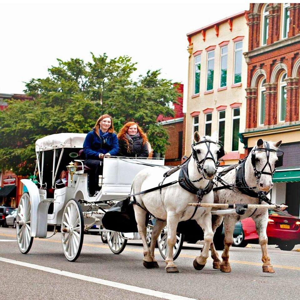 Merry-etta's Holiday Carriage Rides — Marietta Main Street