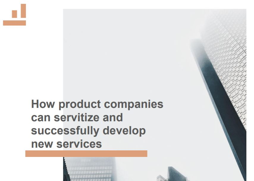 How product companies can servitize and successfully develop new services