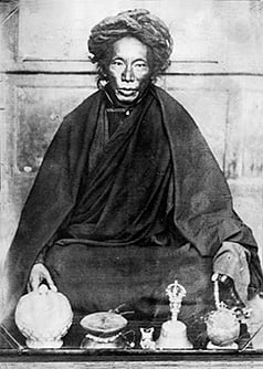 In Tibet, there is a tradition of recognizing incarnations of great masters who have passed away. Sogyal Rinpoche was recognised as an incarnation of Tertön Sogyal Lerab Lingpa.