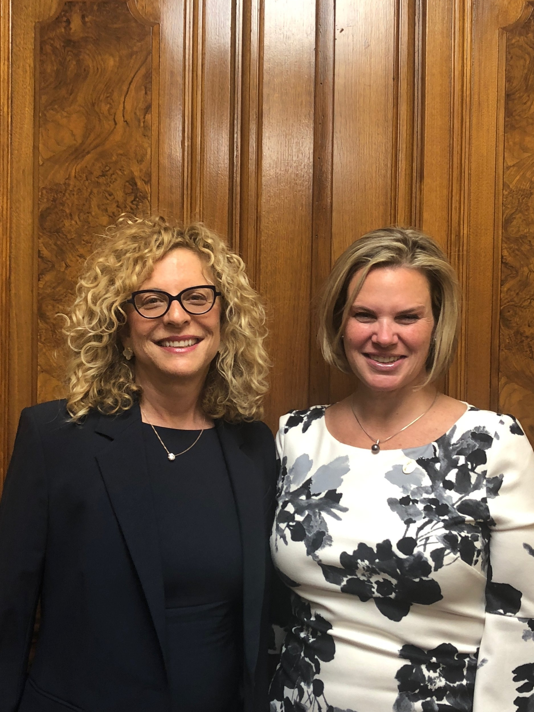 Sandra Schpoont  (left) and  Carrie Anne Cavallo  (right).