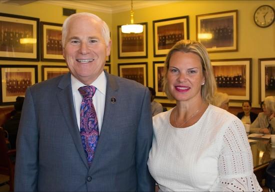 Presiding Justice Scheinkman talks changes to court with Women's Bar Association -