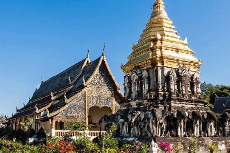 wat chiang mai temple