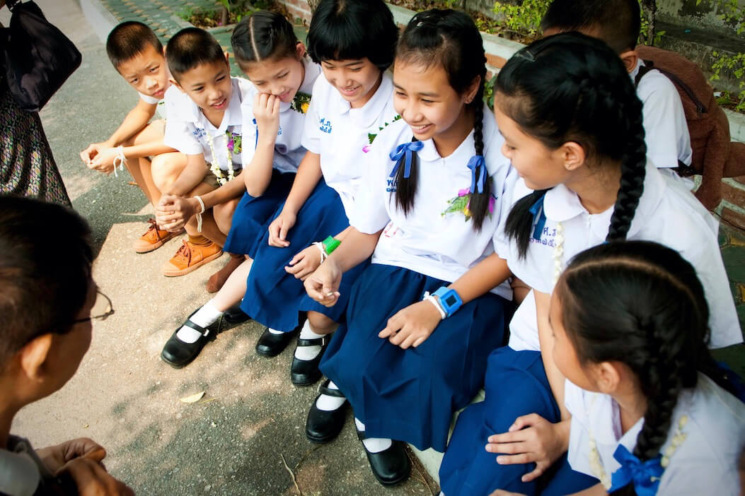 thai school students