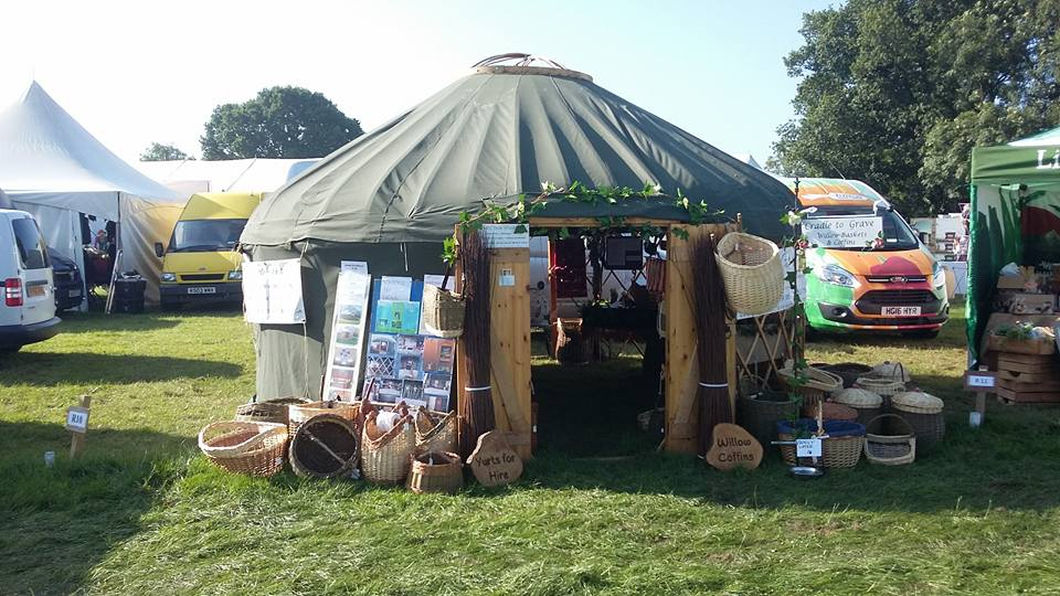hire a yurt to showcase your products