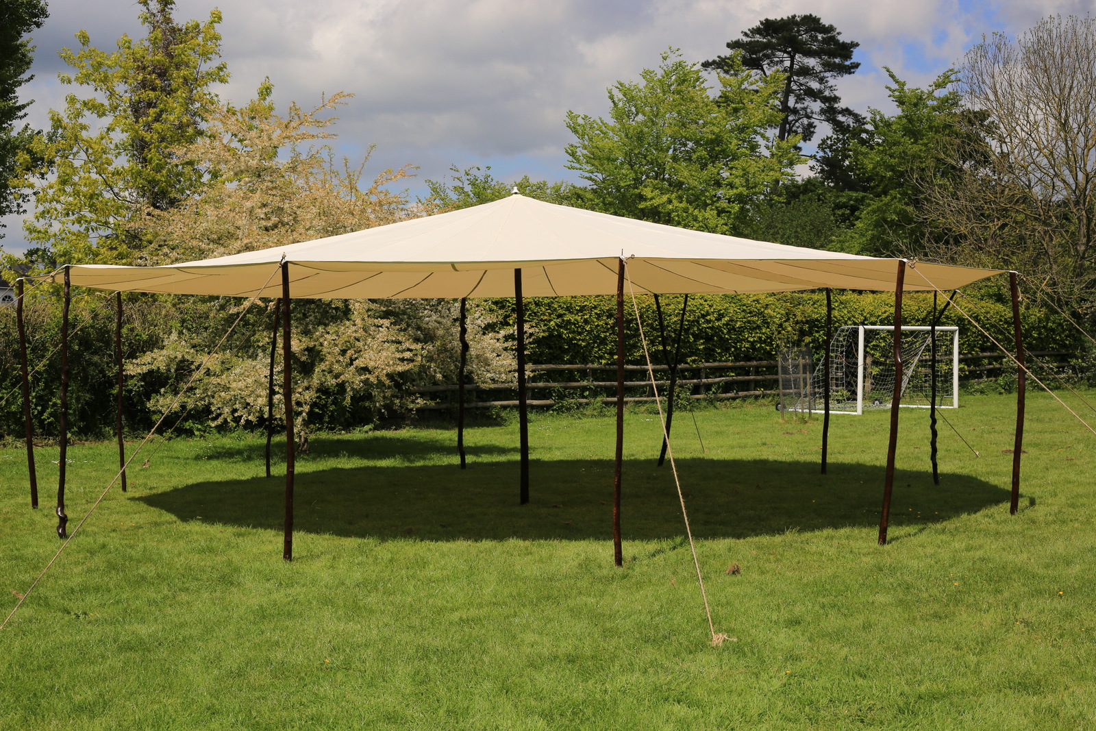 This is our beautiful new canopy we are hiring out for a undercover ceromony Space,it can seat 90 - 100 people,ideal for a hot summers day to keep out of the sun
