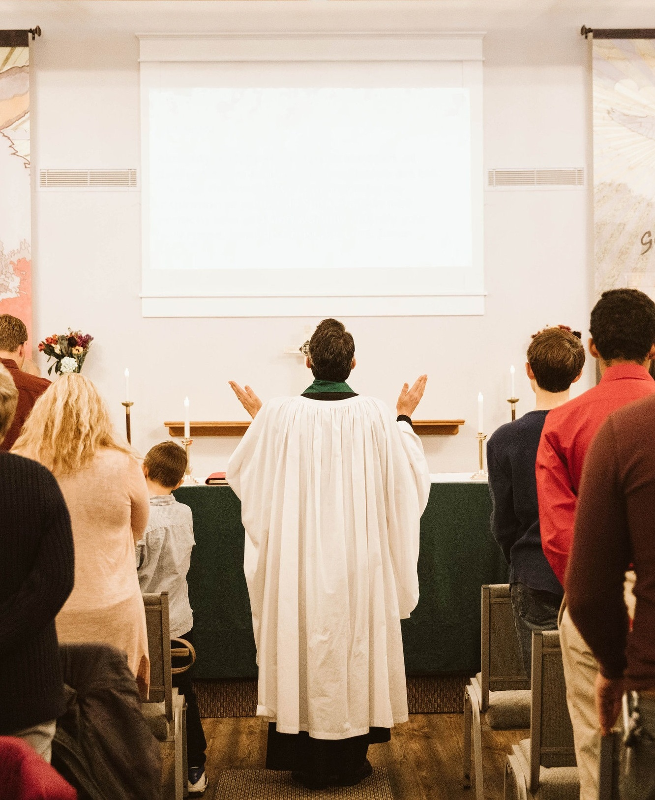 - The structure of our service comes mostly from the Book of Common Prayer. Each Sunday, the Bible passages we read and prayers we say are also being echoed by millions of other Christians around the world. Learn more about our beliefs or our liturgy.