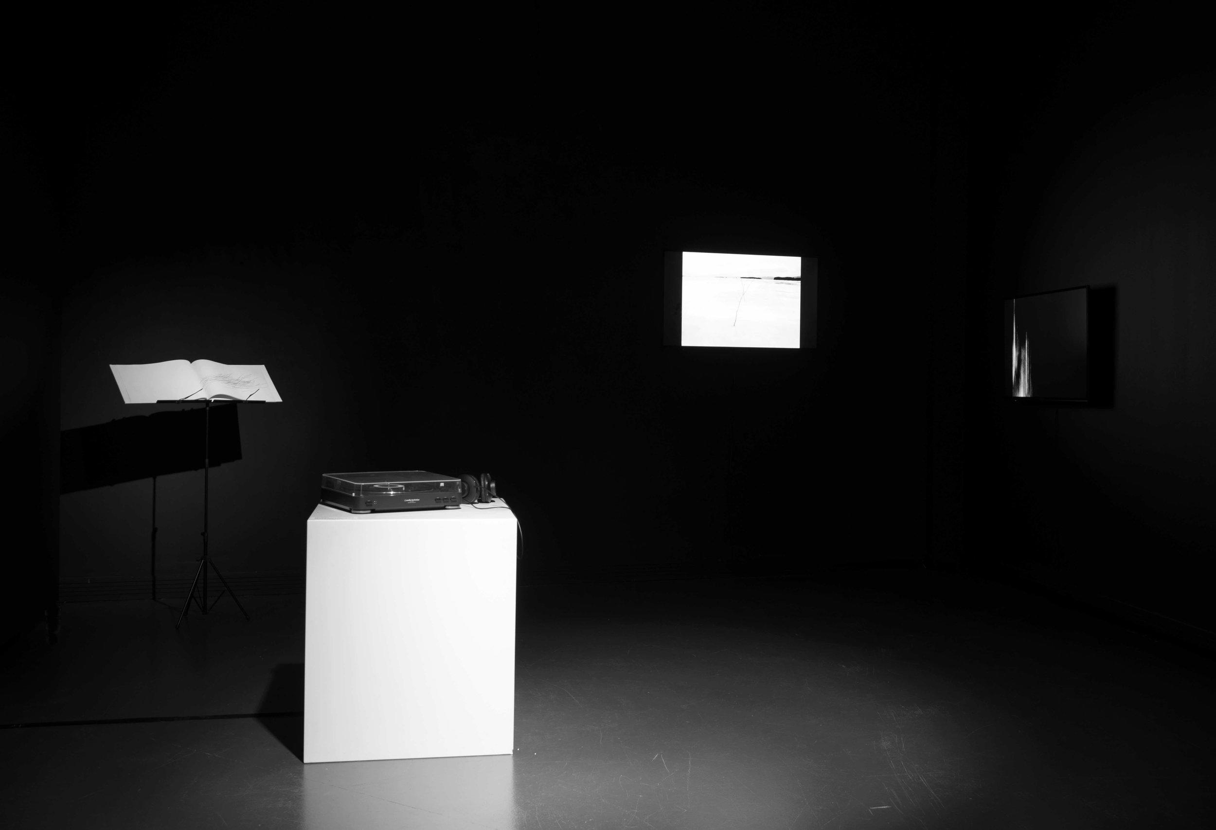 Andante (WINTERREISE)   2017, installation,BilbaoArte Foundation