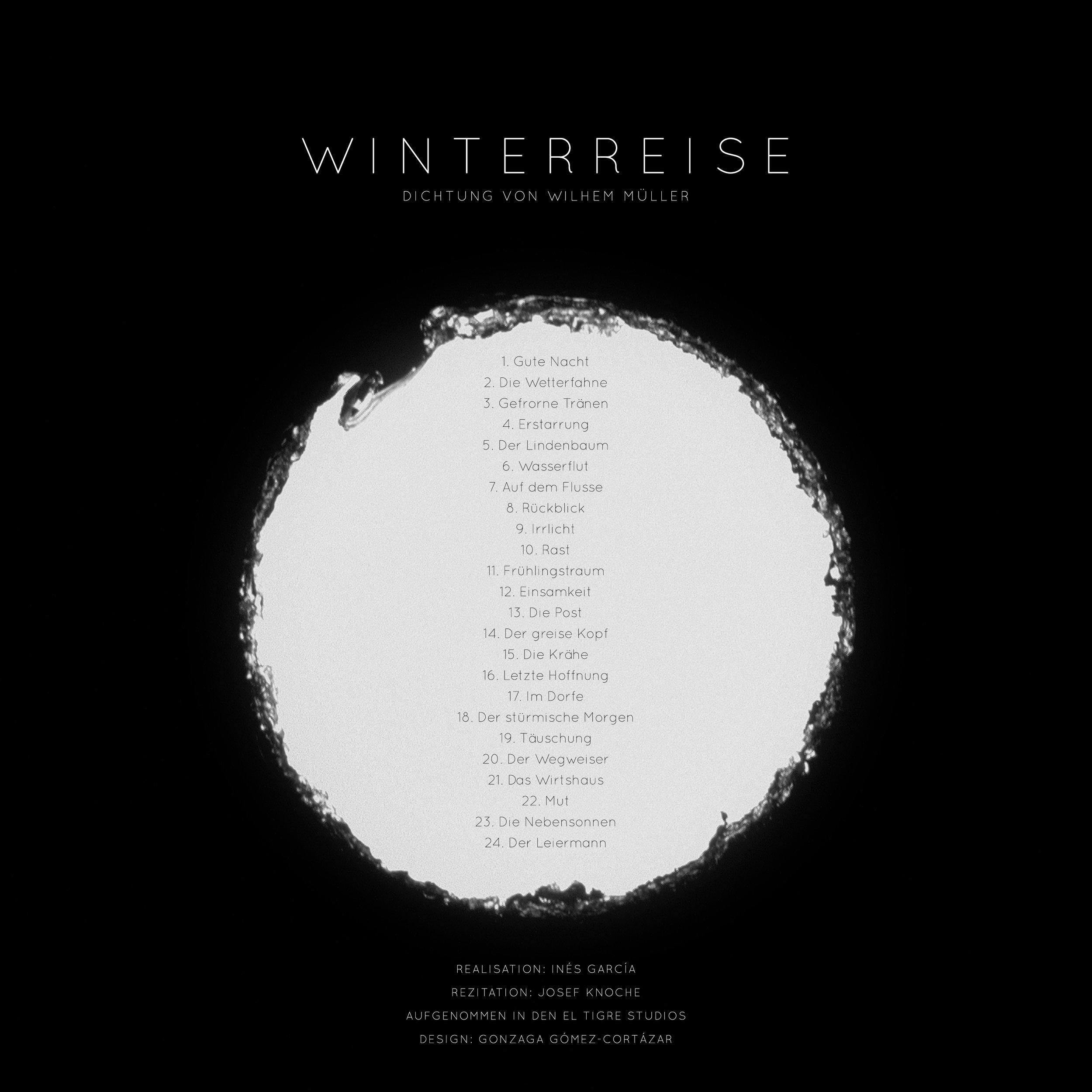 Vinyl back cover   2017,18'52'',vinyl,turntable, headphones  Design: Gonzaga Gómez-Cortázar