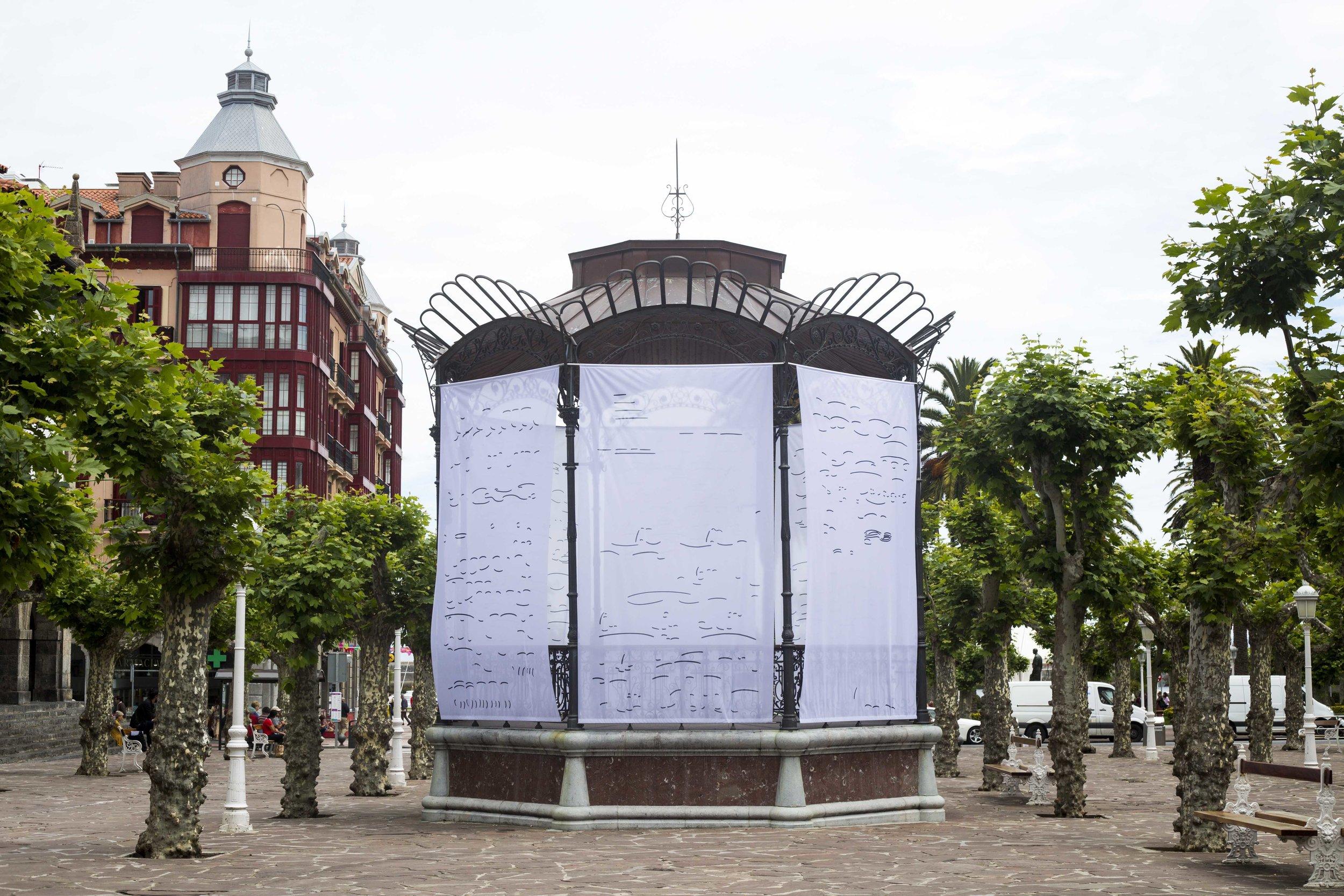 Vista general de la instalación  Foto: Esther Camacho