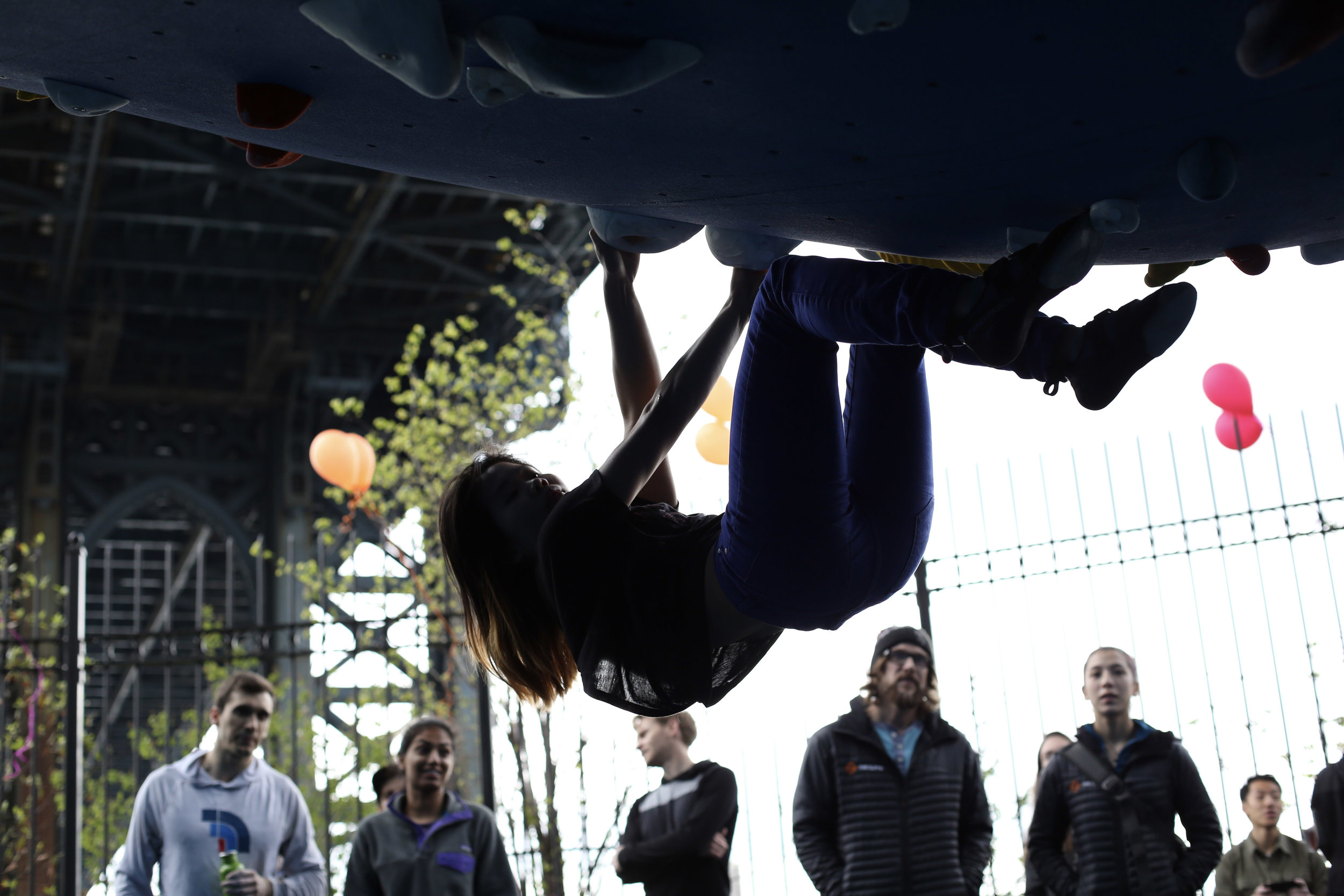 Bouldering - The Cliffs at DUMBO offers bouldering, a type of rock climbing that is focused on movement and requires no experience, rope, or partner! The biggest challenge is not getting hooked. Check out our Learn to Crush clinic to get an intro.