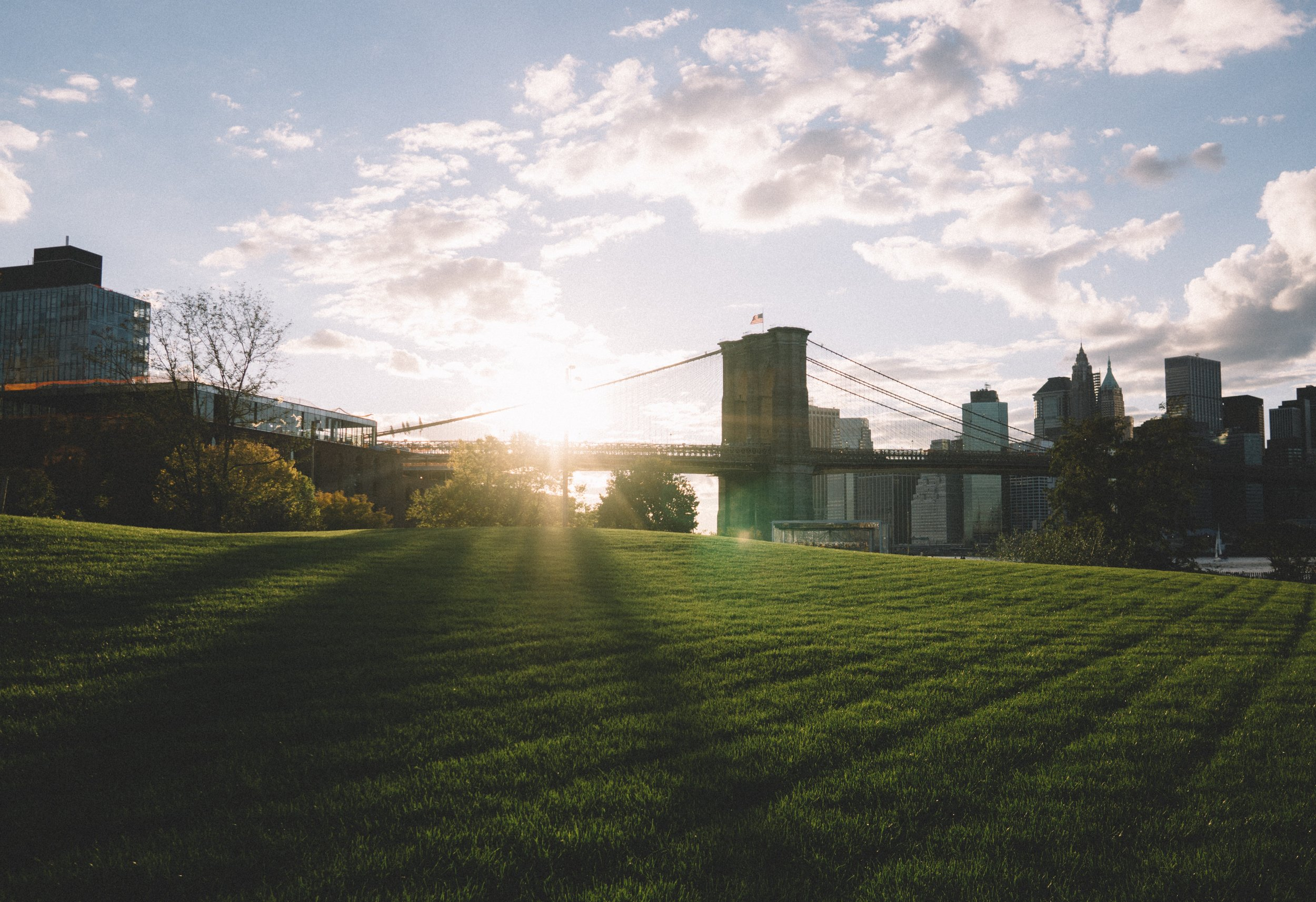 Location - We're an outdoor facility located inside the iconic Brooklyn Bridge Park at 99 Plymouth Street, under the Manhattan Bridge.