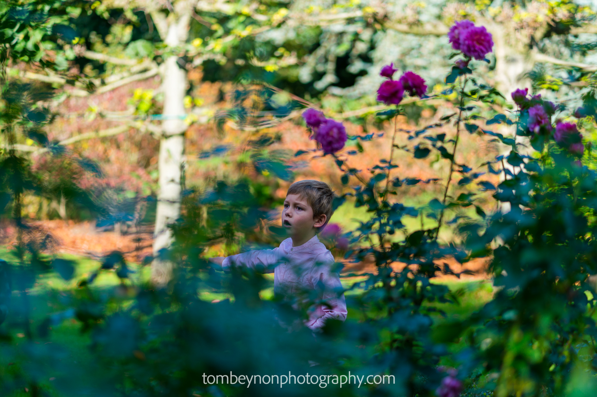 Children play in the grounds of Rodbaston Hall