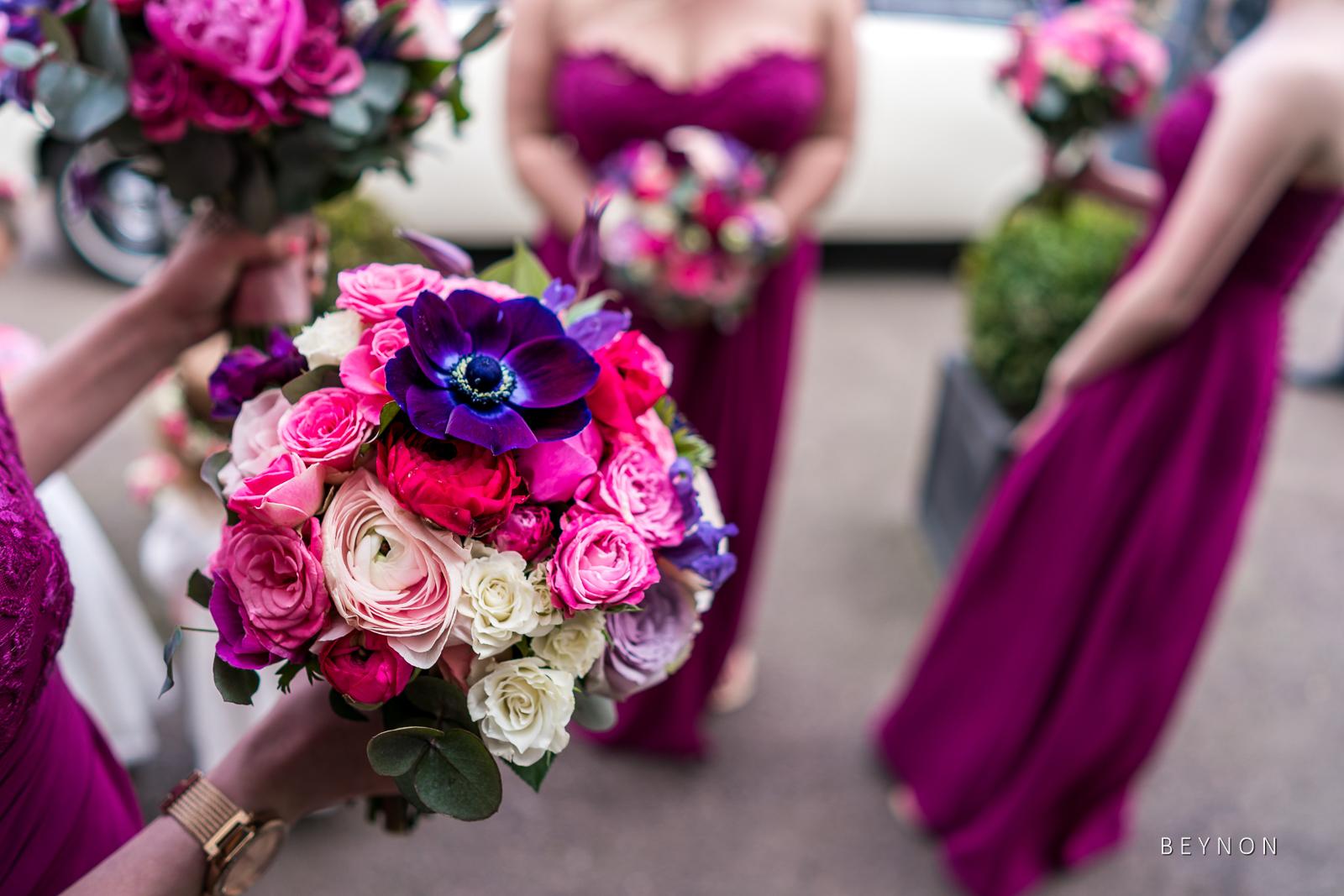 The Bridesmaids wait outside