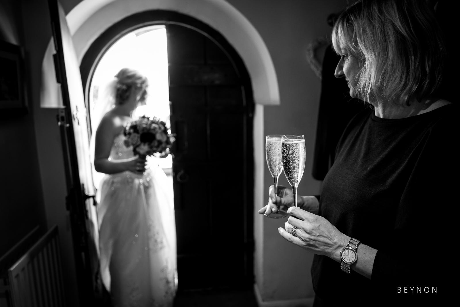 Bride walks back into Sheen Mill