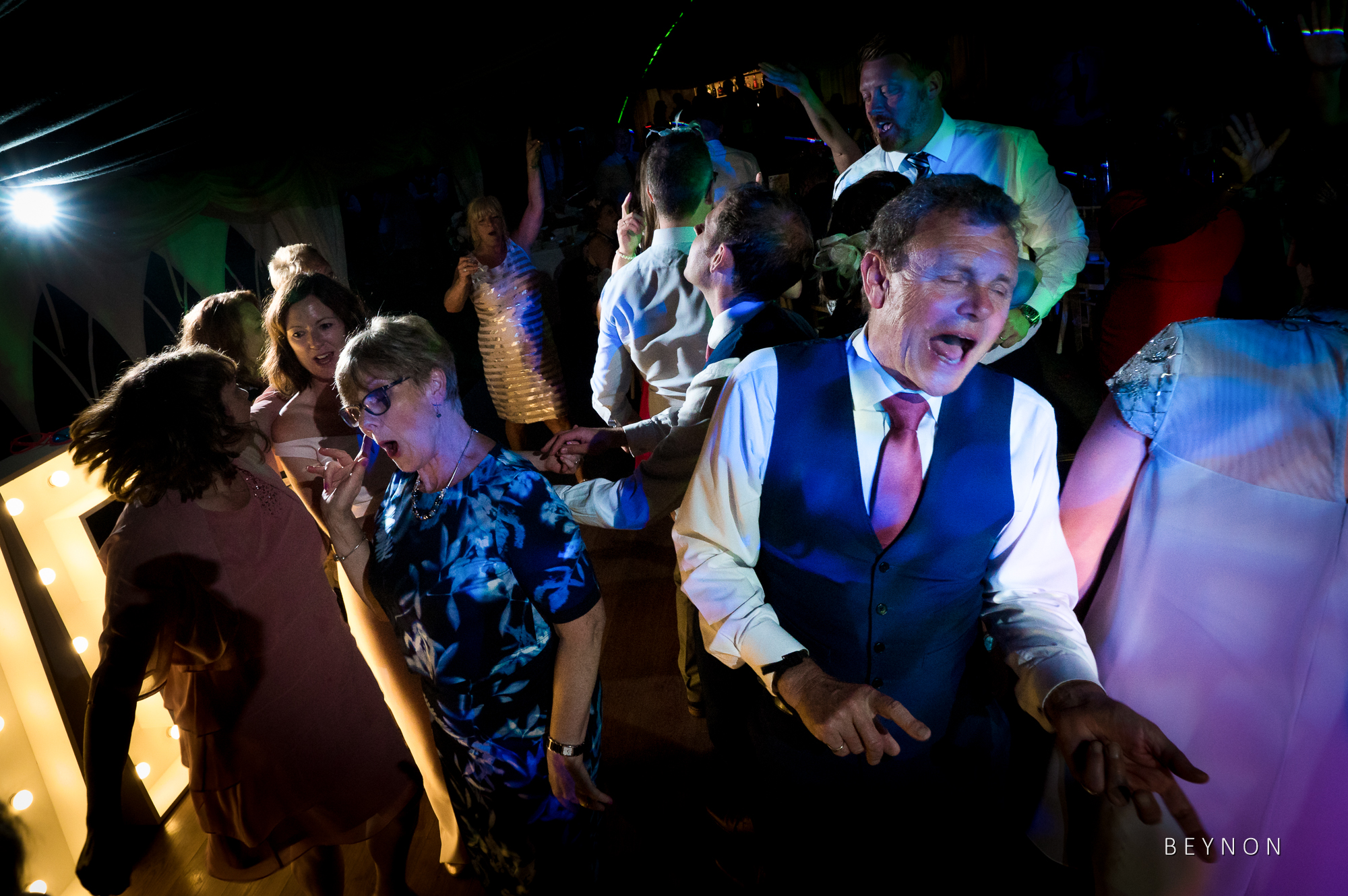 Father of the Groom dancing