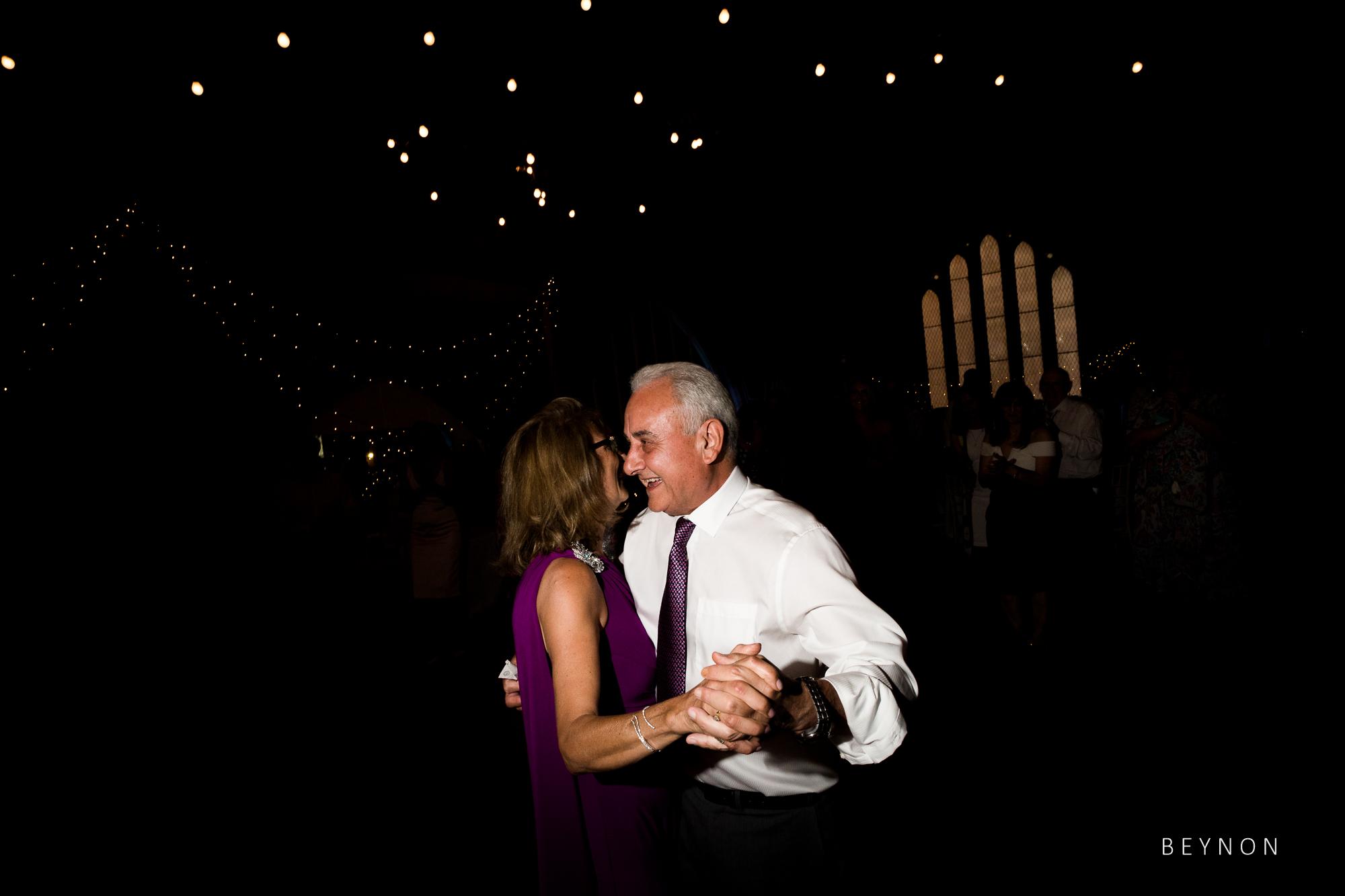 The Groom's parents dance