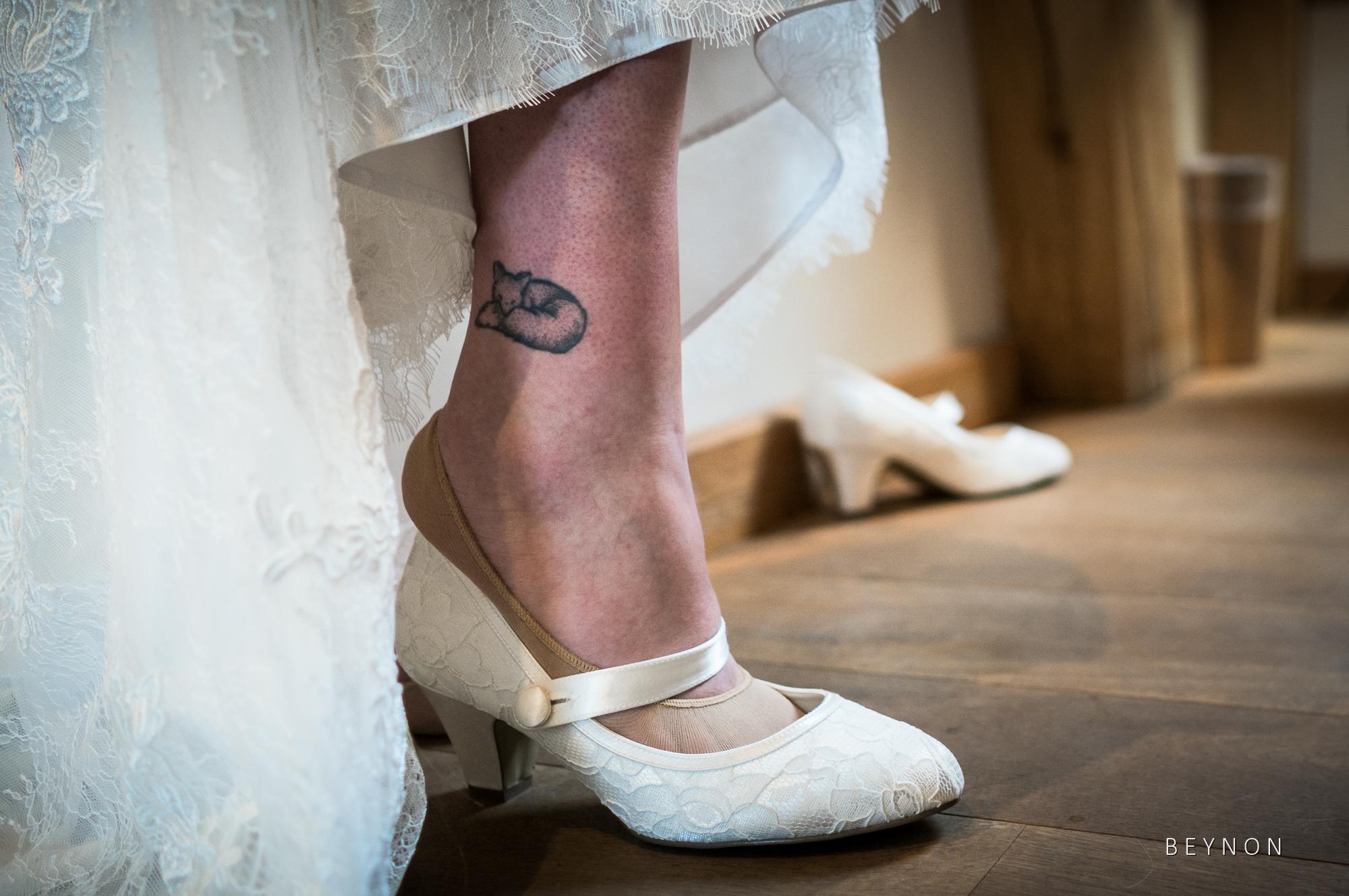 Shoe details shot