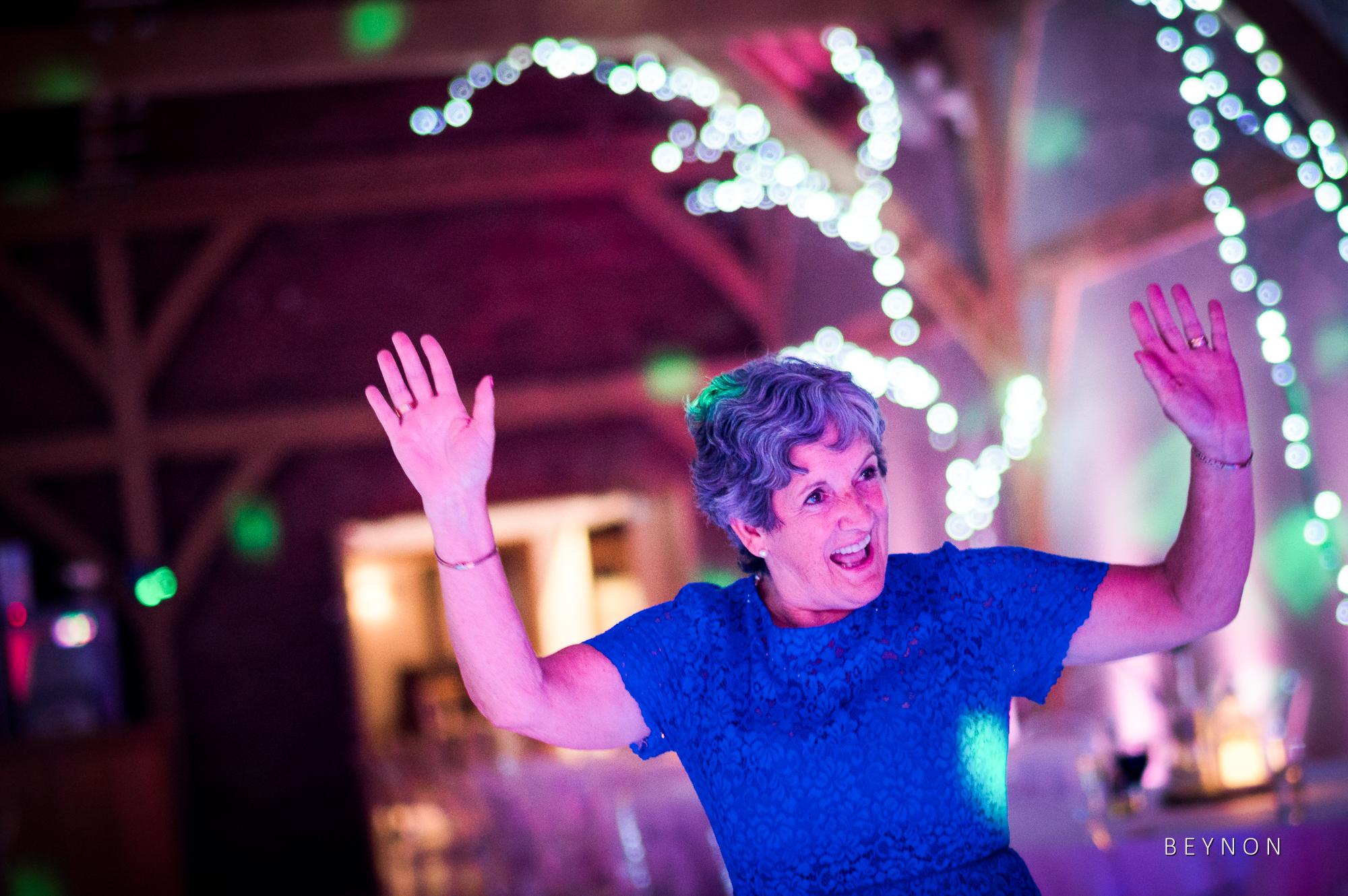 grandma on the dancefloor