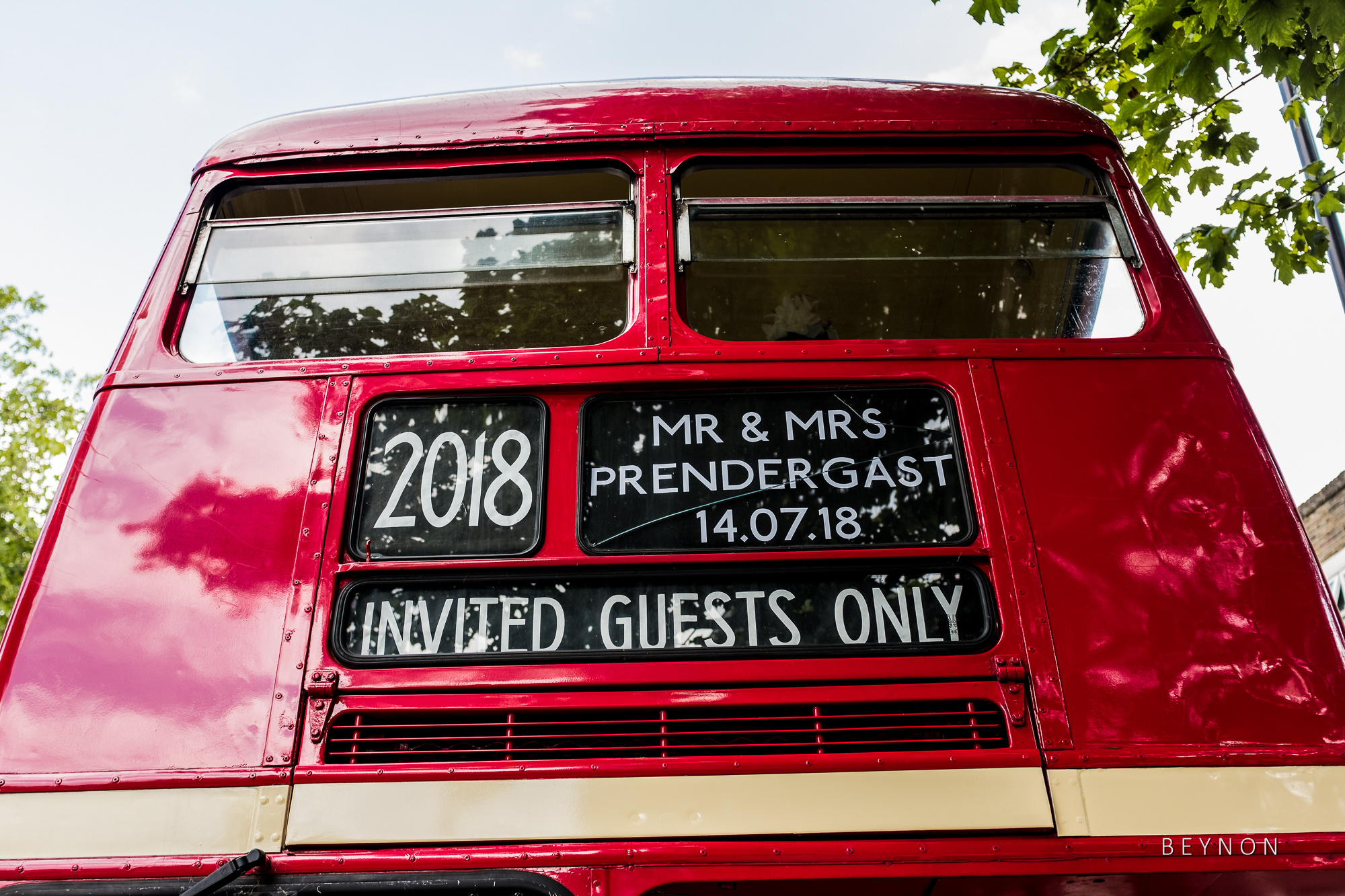 The Wedding Party Bus