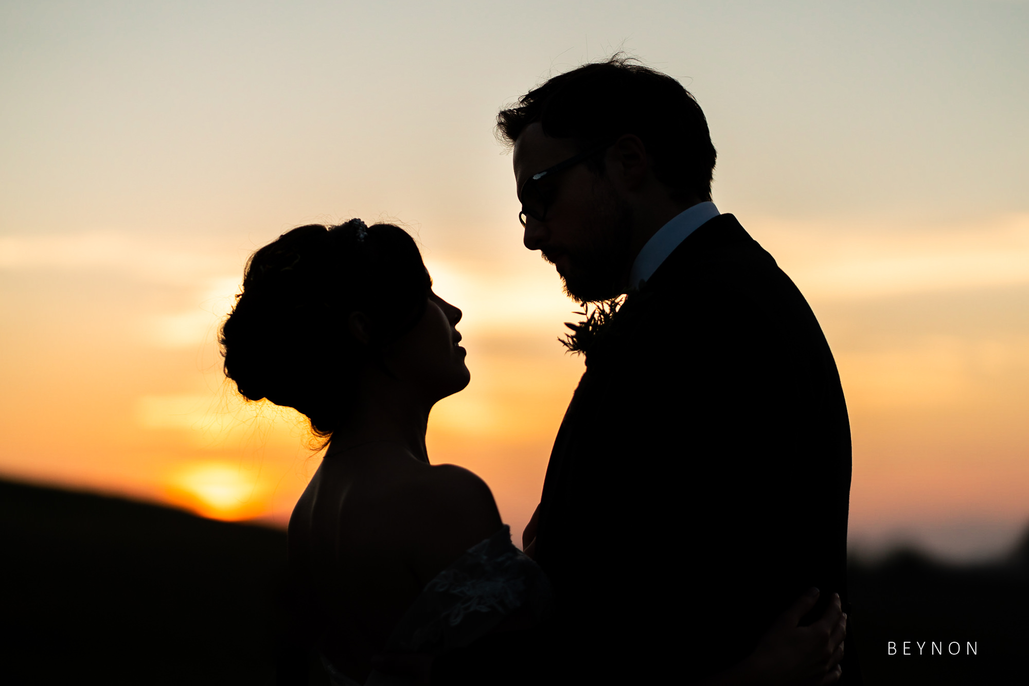 Silhouette photograph using 85mm lens