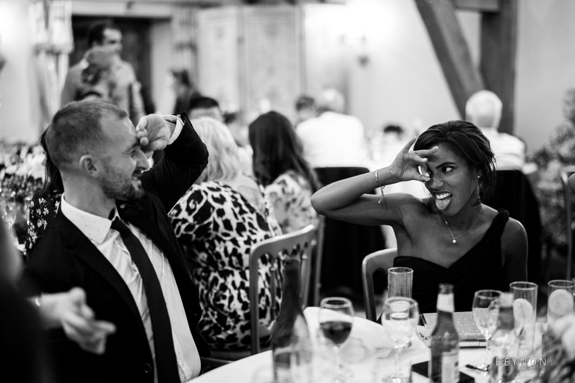 Bridesmaids jokes around
