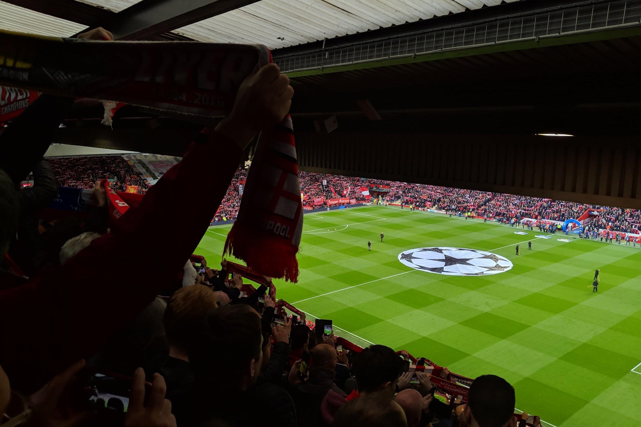 Liverpool 4-0 Barcelona - Pretty good night at Anfield last season.