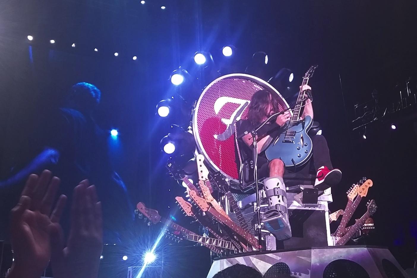 Foo Fighters - Front row. Denver, Colorado, 2015.