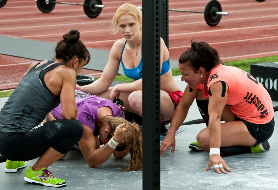 Crossfit Games 2012. It's not about this feeling, it's about what happens next.