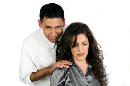 The co-worker mamba. He isn't a certified massage therapist, but that won't stop him from giving your girl an uninvited shoulder rub - one of the oldest co-worker mamba moves in the book.