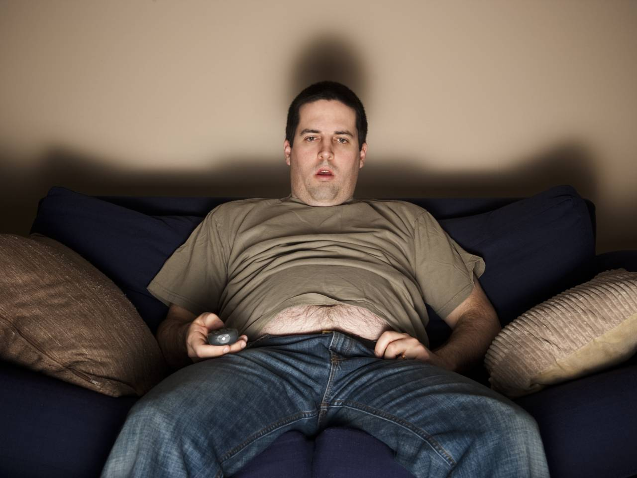 This is the man who skips the gym. Do you want to be like him? If so, stop reading now.