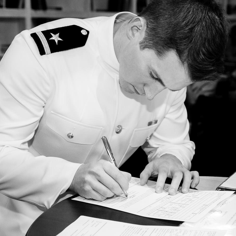 ENS Christian Strong - STRIKE Warfare Officer - USS Bainbridge (DDG-96)