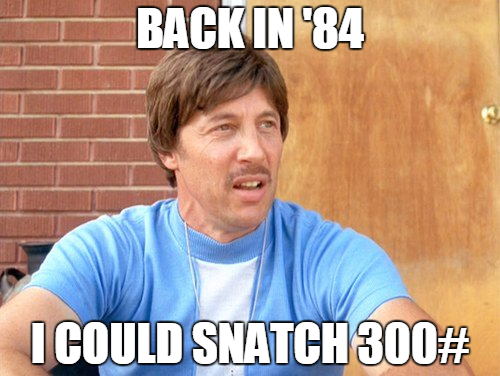 """Uncle Rico: The ultimate OG """"Back in the Day Bro."""""""