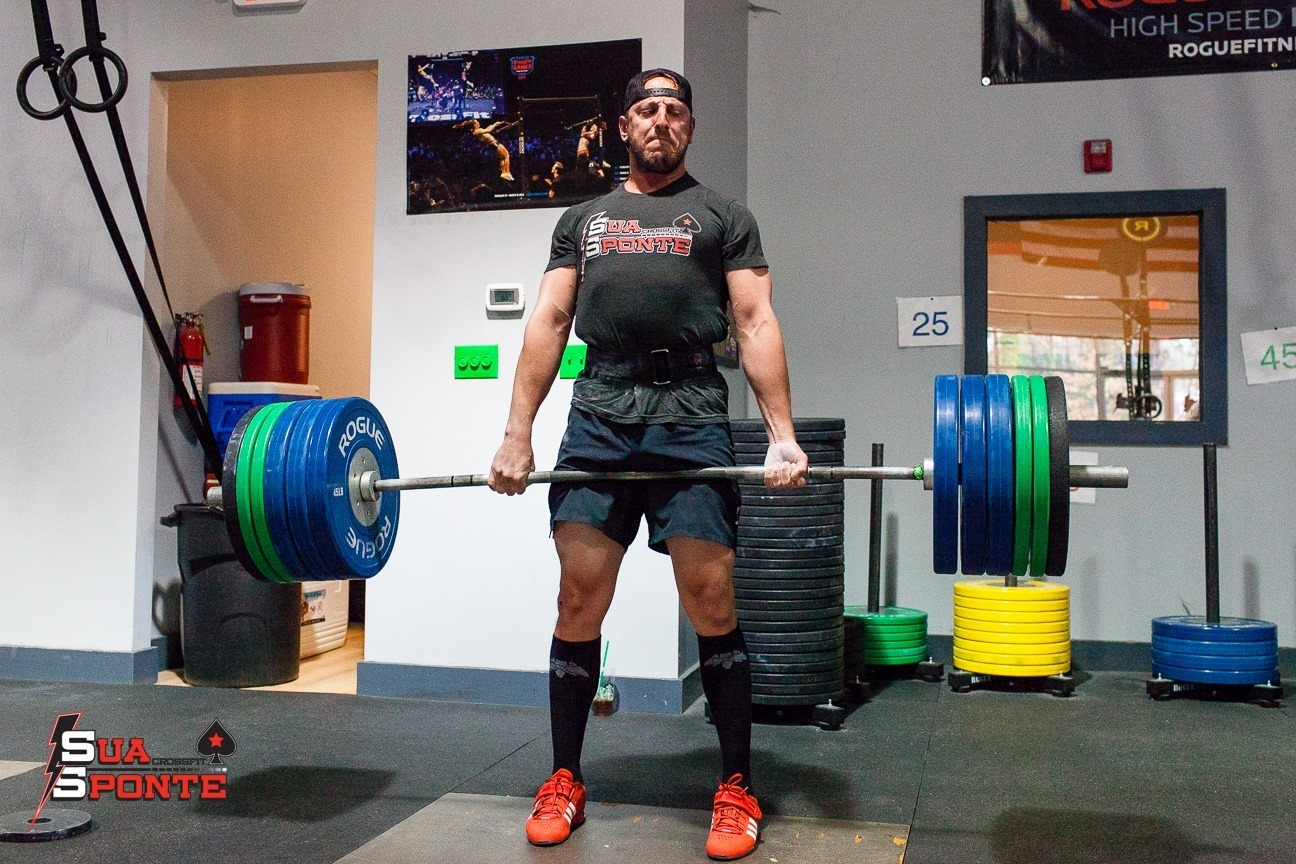 Telling stories about how much you used to be able to lift, is annoying - but worse than that, it attempts to take away the most beautiful thing about lifting - you either can or you can't. That's all that matters. Photo by Adam Trevillian.