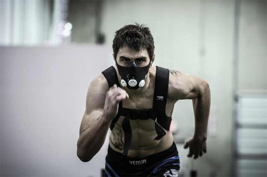 Training masks are stupid. Don't be stupid. Don't wear a training mask.
