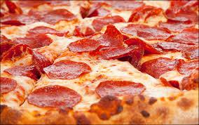 Pizza. Remember pizza?