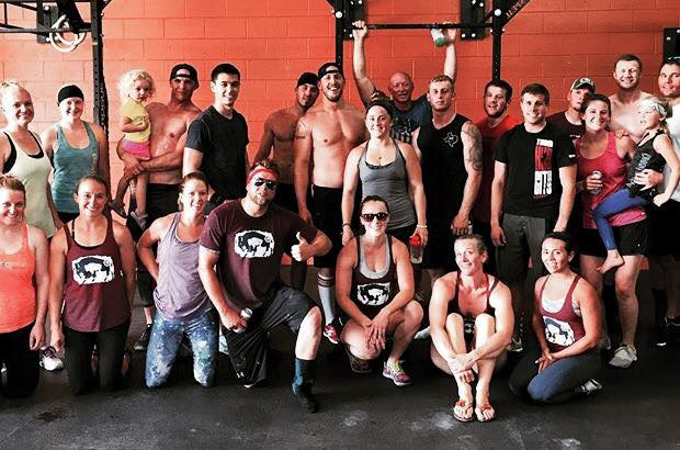 Post Hero WOD. Great group athletes to train with. CrossFit Cheyenne - Cheyenne, WY.