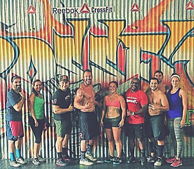 One of our favorite drop-ins. Reebok CrossFit Ironheart - San Juan, Puerto Rico
