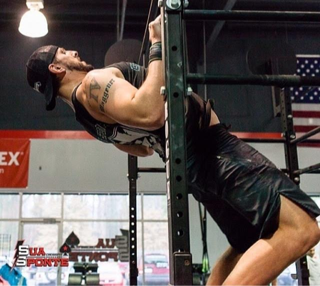 Chest-to-bar pull-ups. One of my biggest weaknesses and one that is sure to be exposed every Open season.