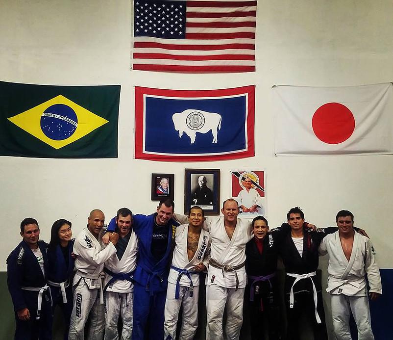 My new BJJ family. Cheyenne Brazilian Jiu Jitsu.