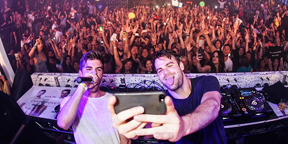 The Chainsmokers  live at the Filmore Auditorium in Denver. My girlfriend and I are somewhere in the back left corner of this photo.