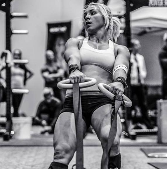 """Is a woman who lifts """"more of a woman"""" than one who doesn't? Natalie Newhart just tested postive for a male hormone and was banned from CrossFit competition for two years."""