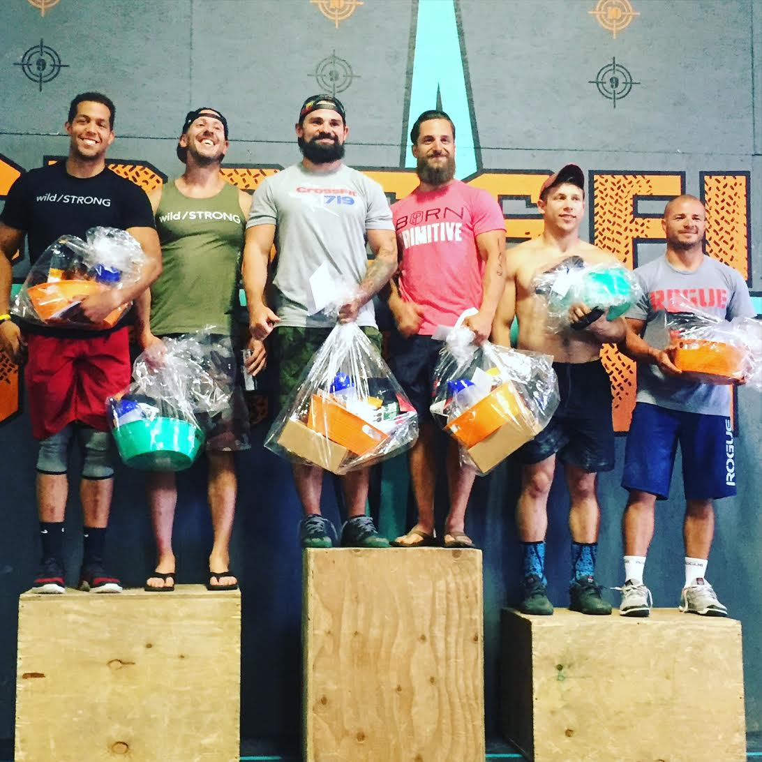 Second place at the 2016 Hangry Games at CrossFit Decimate in Colorado Springs, CO.