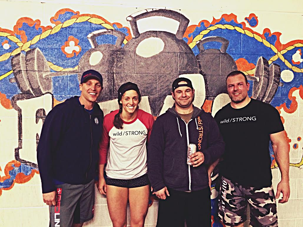 Some of the Tribe at Farmboy CrossFit during the 2015 CrossFit Open