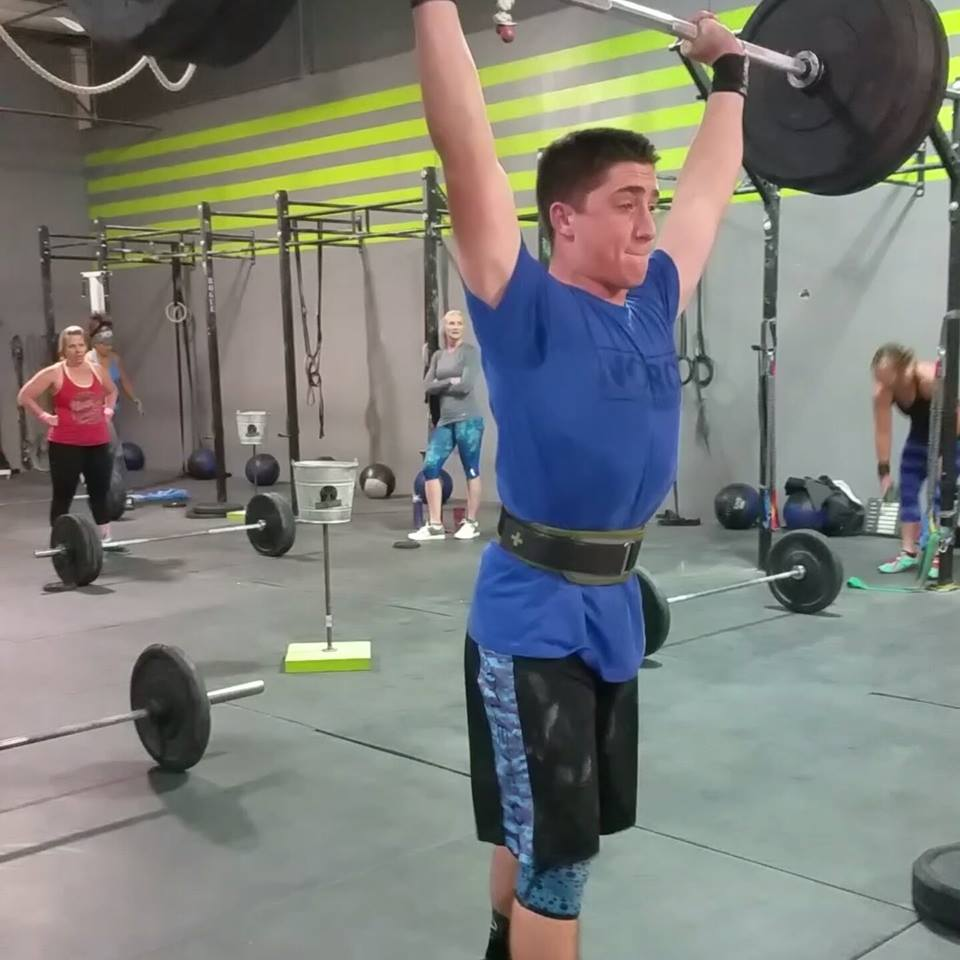 NorCo CrossFit's Logan Ewing, 15, won the Southwest Region in this year's open and finished 14th worldwide amongst boys 14-15.